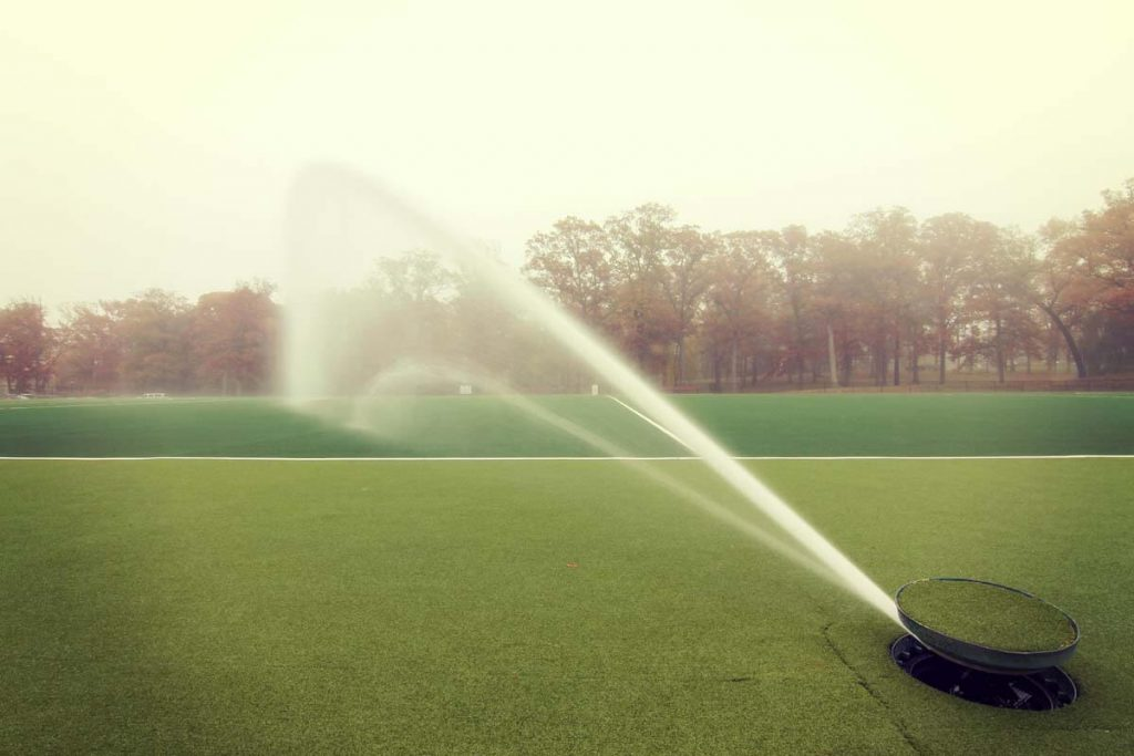 Pro Irrigation at Athletic Fields
